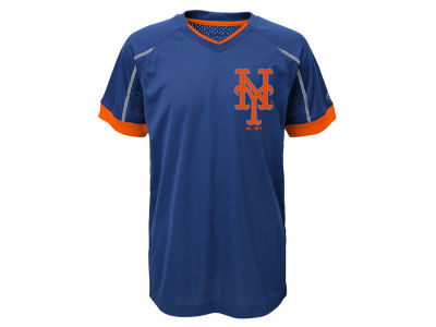 New York Mets Outerstuff MLB Youth Emergence Crew T-Shirt