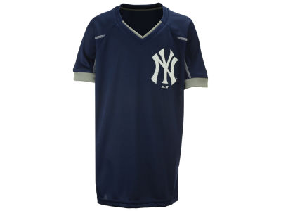 New York Yankees Outerstuff MLB Youth Emergence Crew T-Shirt