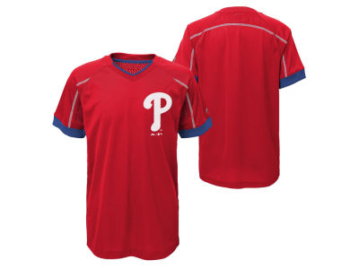 Philadelphia Phillies Outerstuff MLB Youth Emergence Crew T-Shirt