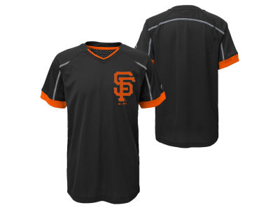 San Francisco Giants Outerstuff MLB Youth Emergence Crew T-Shirt