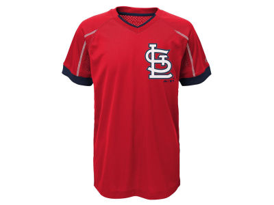 St. Louis Cardinals Outerstuff MLB Youth Emergence Crew T-Shirt