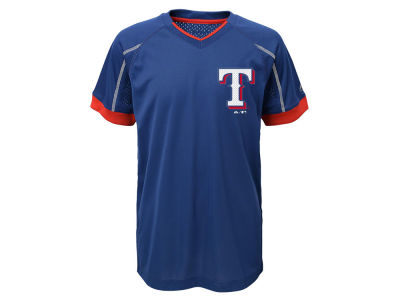Texas Rangers Outerstuff MLB Youth Emergence Crew T-Shirt