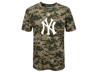 New York Yankees Outerstuff MLB Youth Digi Camo Sublimated Cool Base T-Shirt