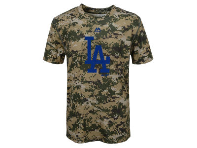 Los Angeles Dodgers Outerstuff MLB Youth Digi Camo Sublimated Cool Base T-Shirt