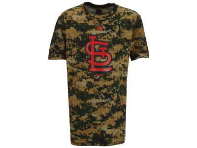 St. Louis Cardinals Outerstuff MLB Youth Digi Camo Sublimated Cool Base T-Shirt