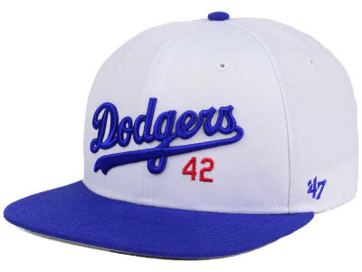 Brooklyn Dodgers Jackie Robinson '47 CAPTAIN Cap