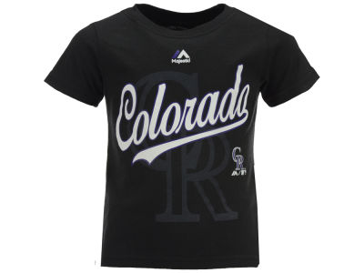 Colorado Rockies Outerstuff MLB Toddler The Game Cotton T-Shirt