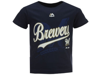 Milwaukee Brewers Outerstuff MLB Toddler The Game Cotton T-Shirt