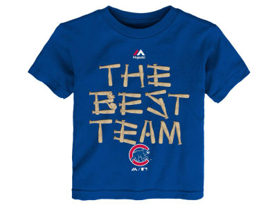 Chicago Cubs Outerstuff MLB Toddler The Best Team T-Shirt