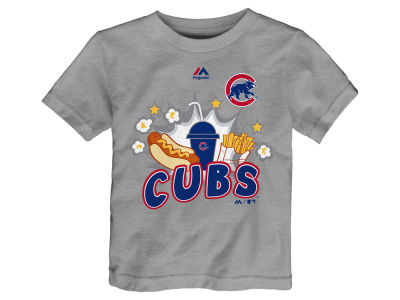 Chicago Cubs Outerstuff MLB Toddler Snack Attack T-Shirt