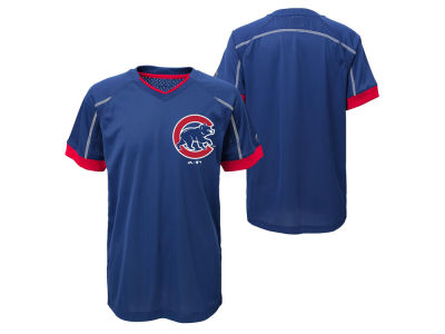 Chicago Cubs Outerstuff MLB Kids Emergence Crew T-Shirt