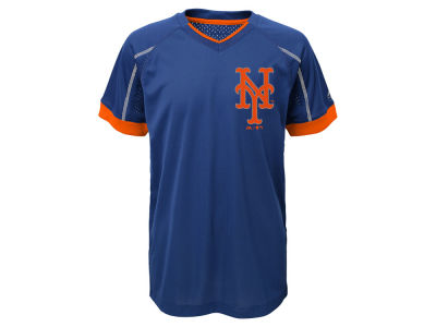 New York Mets Outerstuff MLB Kids Emergence Crew T-Shirt