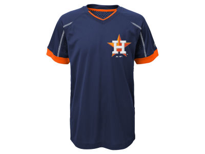 Houston Astros Outerstuff MLB Kids Emergence Crew T-Shirt