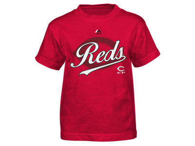 Cincinnati Reds Outerstuff MLB Kids The Game Cotton T-Shirt