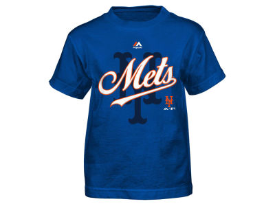 New York Mets Outerstuff MLB Kids The Game Cotton T-Shirt
