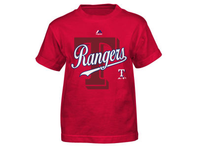Texas Rangers Outerstuff MLB Kids The Game Cotton T-Shirt