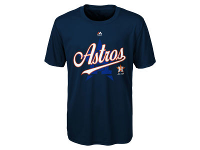 Houston Astros Outerstuff MLB Kids The Game Poly T-Shirt