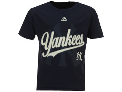 New York Yankees Outerstuff MLB Kids The Game Poly T-Shirt
