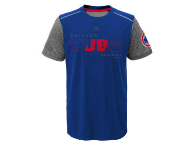 Chicago Cubs Outerstuff MLB Youth Club Series Cool Base T-Shirt