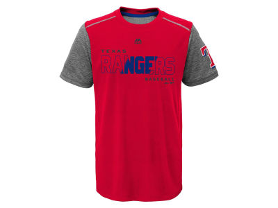 Texas Rangers Outerstuff MLB Youth Club Series Cool Base T-Shirt