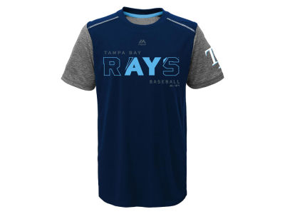 Tampa Bay Rays Outerstuff MLB Youth Club Series Cool Base T-Shirt
