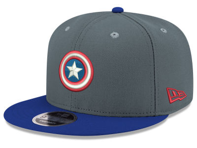 Marvel Jr. Heather Action 9FIFTY Snapback Cap