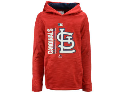 St. Louis Cardinals Outerstuff MLB Youth AC Team Icon Hoodie