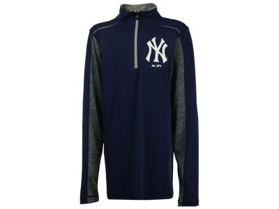 New York Yankees Outerstuff MLB Youth Club Series 1/4 Zip Pullover