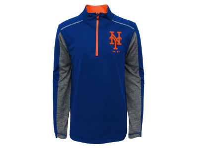New York Mets Outerstuff MLB Youth Club Series 1/4 Zip Pullover
