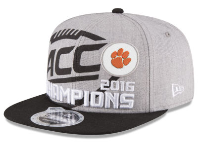 Clemson Tigers New Era 2016 NCAA Football ACC Champs 9FIFTY Snapback Cap