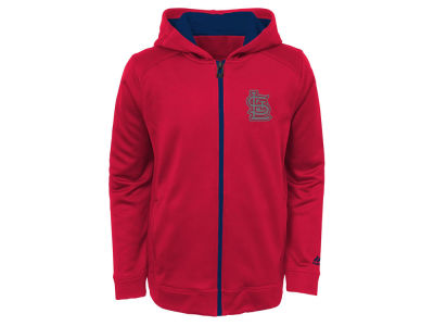 St. Louis Cardinals Outerstuff MLB Youth Club Series Full Zip Hoodie