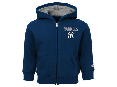 New York Yankees Outerstuff MLB Toddler Inside the Park Full Zip Hoodie
