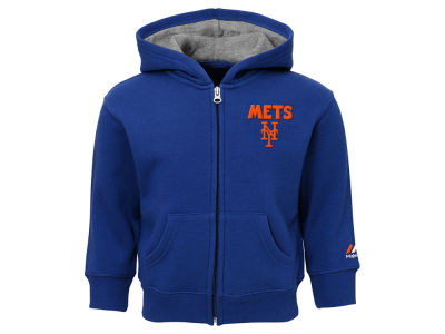 New York Mets Outerstuff MLB Toddler Inside the Park Full Zip Hoodie