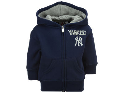 New York Yankees Outerstuff MLB Infant Inside the Park Full Zip Hoodie