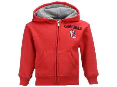 St. Louis Cardinals Outerstuff MLB Infant Inside the Park Full Zip Hoodie