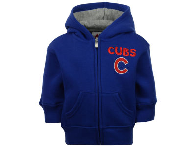 Chicago Cubs Outerstuff MLB Infant Inside the Park Full Zip Hoodie