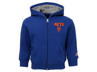 New York Mets Outerstuff MLB Infant Inside the Park Full Zip Hoodie