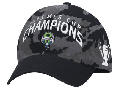Seattle Sounders FC adidas 2016 MLS Cup Champ Adjustable Cap