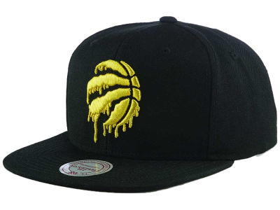 Toronto Raptors Mitchell & Ness NBA Raptors Gold Pack Snapback Cap