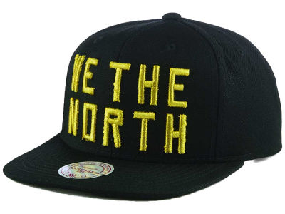 Toronto Raptors Mitchell and Ness NBA Raptors Gold Pack Snapback Cap