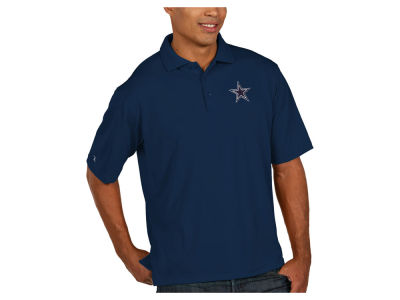 Dallas Cowboys Antigua NFL Pique Xtra-Lite Polo