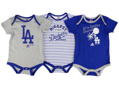 Los Angeles Dodgers Outerstuff MLB Infant Homerun 3pc Set