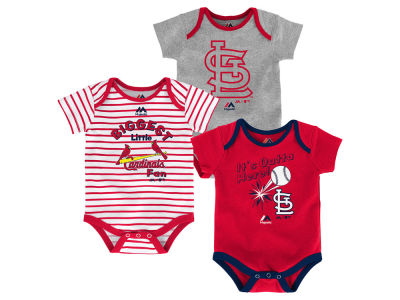 St. Louis Cardinals Outerstuff MLB Infant Homerun 3pc Set