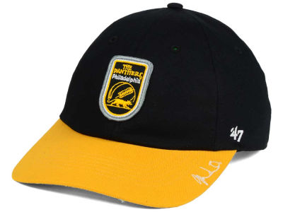 Philadelphia Panthers Black Fives x '47 Yo Bruiser '47 CLEAN UP Cap