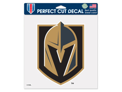 Vegas Golden Knights Die Cut Color Decal 8in X 8in