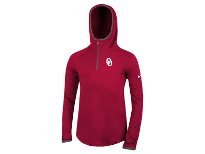 Oklahoma Sooners Nike NCAA Girls Element Logo Zip Hoodie