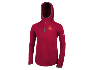 Iowa State Cyclones Nike NCAA Girls Element Logo Zip Hoodie