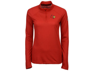 Louisville Cardinals adidas NCAA Women's Ultimate Quarter Zip