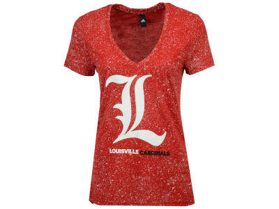 Louisville Cardinals adidas NCAA Women's Logo Stack T-Shirt