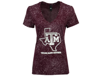 Texas A&M Aggies adidas NCAA Women's Logo Stack T-Shirt